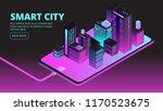 smart city technology.... | Shutterstock .eps vector #1170523675