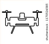 drone line icon | Shutterstock .eps vector #1170526585