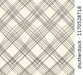 plaid seamless pattern with... | Shutterstock .eps vector #1170528718