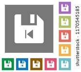 file previous flat icons on... | Shutterstock .eps vector #1170545185
