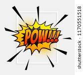 comic speech expression bubble... | Shutterstock .eps vector #1170551518