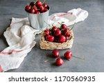 delicious big and juicy... | Shutterstock . vector #1170560935