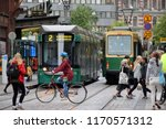 helsinki  finland   august 30 ... | Shutterstock . vector #1170571312