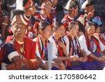 kisama heritage village  kohima ... | Shutterstock . vector #1170580642
