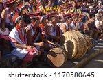 kisama heritage village  kohima ... | Shutterstock . vector #1170580645
