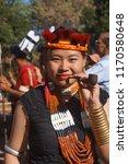 kisama heritage village  kohima ... | Shutterstock . vector #1170580648