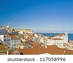 a view of old lisbon  portugal  | Shutterstock . vector #117058996