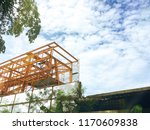 construction structure building ... | Shutterstock . vector #1170609838