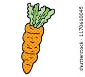 comic book style cartoon carrot | Shutterstock .eps vector #1170610045