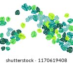 turquoise tropical jungle... | Shutterstock .eps vector #1170619408