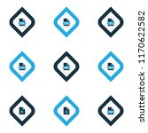 types icons colored set with... | Shutterstock .eps vector #1170622582