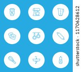 culinary icons line style set... | Shutterstock .eps vector #1170628612