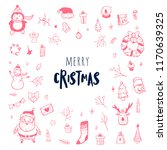 merry christmas. a great... | Shutterstock .eps vector #1170639325