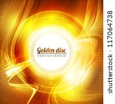 Abstract Golden Background....
