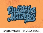 dia de los muertos day of the...   Shutterstock .eps vector #1170651058