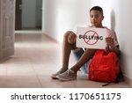 african american teenage boy... | Shutterstock . vector #1170651175