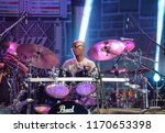 nis   august 10  omar hakim and ... | Shutterstock . vector #1170653398