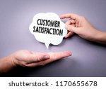 customer satisfaction concept.... | Shutterstock . vector #1170655678