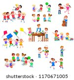 vector for celebration children ... | Shutterstock .eps vector #1170671005