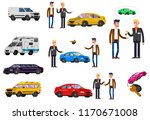 design concept of choice and... | Shutterstock .eps vector #1170671008
