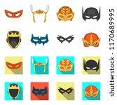 vector illustration of hero and ... | Shutterstock .eps vector #1170689995