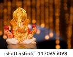 lord ganesha  ganesh festival | Shutterstock . vector #1170695098