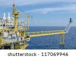offshore platform at the south... | Shutterstock . vector #117069946