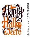 halloween vector illustration....   Shutterstock .eps vector #1170709318