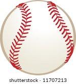 a baseball | Shutterstock .eps vector #11707213