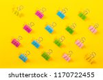 pattern of colorful binder... | Shutterstock . vector #1170722455