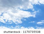 view of beautiful blue sky | Shutterstock . vector #1170735538