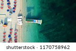 aerial drone photo of natural... | Shutterstock . vector #1170758962
