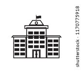school icon vector isolated on... | Shutterstock .eps vector #1170775918
