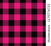 seamless black and pink... | Shutterstock .eps vector #1170776722