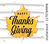 thanksgiving day. logo  text... | Shutterstock .eps vector #1170789898