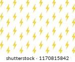 yellow flash vector pattern....   Shutterstock .eps vector #1170815842