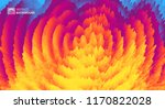 3d wavy background with ripple... | Shutterstock .eps vector #1170822028