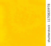abstract bright yellow halftone ... | Shutterstock .eps vector #1170835978