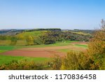 """View to autamnally colored vinyards in Rhenish Hesse from the so called """"Hindenburgblick""""/Germany"""