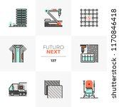 modern flat icons set of new... | Shutterstock .eps vector #1170846418