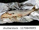 stuffed with onion fish vimba...