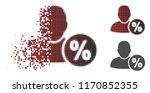 user tax percent icon in...   Shutterstock .eps vector #1170852355