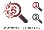 financial audit loupe icon in... | Shutterstock .eps vector #1170861712