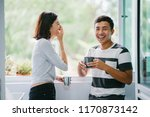 a portrait of a young malay... | Shutterstock . vector #1170873142