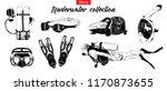 vector engraved style... | Shutterstock .eps vector #1170873655