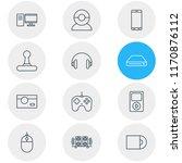 illustration of 12 accessory... | Shutterstock . vector #1170876112