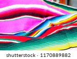 mexican traditional textiles | Shutterstock . vector #1170889882