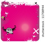 abstract pink emo background... | Shutterstock .eps vector #11708944