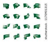 saudi arabia flag  vector...   Shutterstock .eps vector #1170901315