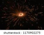 a firework   fire cracker... | Shutterstock . vector #1170902275